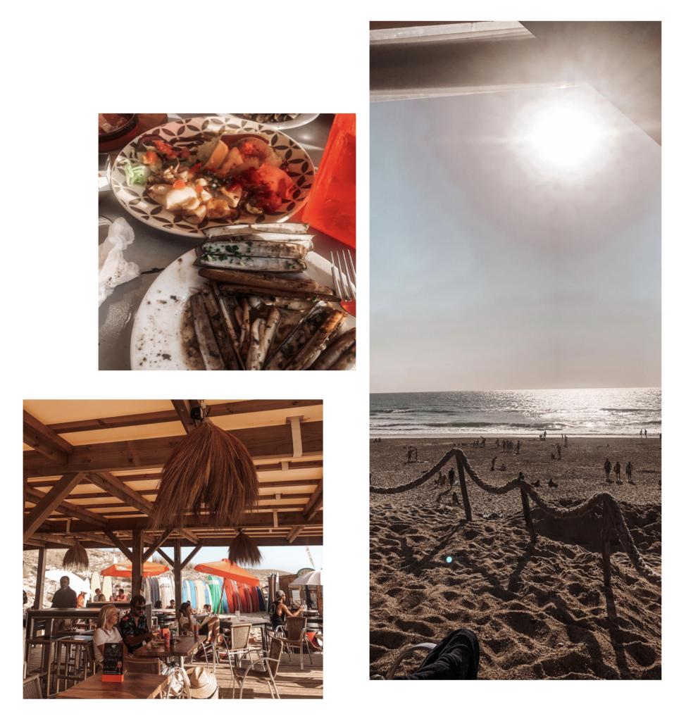 restaurant sur la plage hossegor