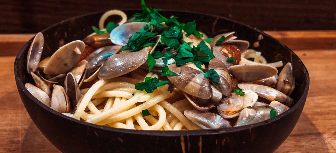 recette spaghetti tellines